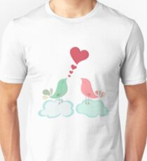Love bird couple  Unisex T-Shirt