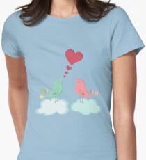 Love bird couple  Womens Fitted T-Shirt