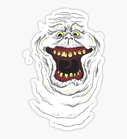 Who you gonna call? Slimer! Sticker