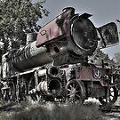 J 519 Steam Engine by Colin  Ewington