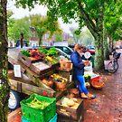 Nantucket Veggie Girl by Bruce Taylor