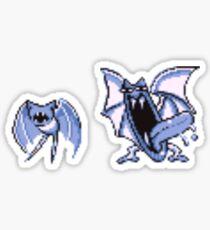 Zubat evolution  Sticker