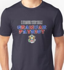 Grammar Patriot Unisex T-Shirt