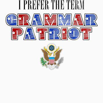 Grammar Patriot by SgtGrammar