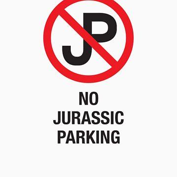 No Jurassic Parking by ctlart