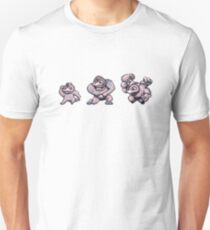 Machop evolution  Unisex T-Shirt