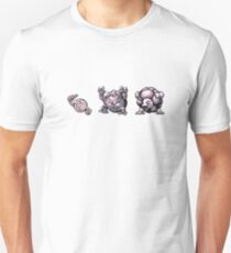 Geodude evolution  Unisex T-Shirt
