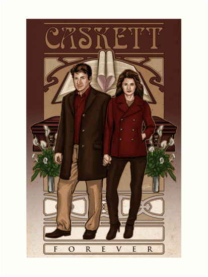 Caskett by Patrick Scullin