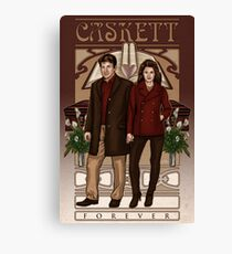 Caskett Canvas Print