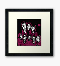 Party Of Monsters Framed Print