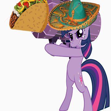 Twilight Sparkle Taco Launcher by DarthAjFox