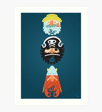 All Abeard! Art Print