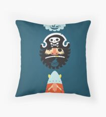 All Abeard! Throw Pillow