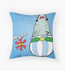 Asterisk & Obelisk Throw Pillow