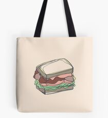 Retro Abstract Sandwich Tote Bag