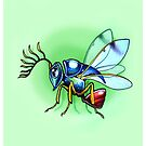 Eucharitid Wasp by Paula Stirland