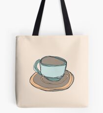 Retro Abstract Coffee Tasche