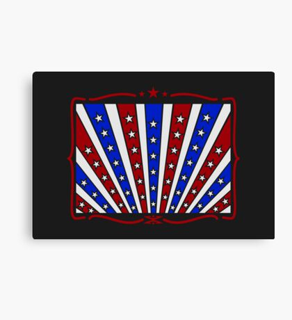 Stars & Stripes VRS2 Canvas Print