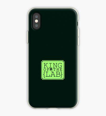 King of the Lab VRS2 iPhone Case