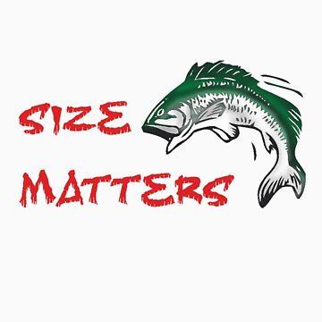 SIZE MATTERS FISHING T by JAYSA2UK