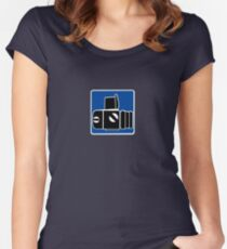 Hasselblad Logo 2 Women's Fitted Scoop T-Shirt