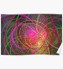 Fractal - Abstract - Loopy Doopy Poster