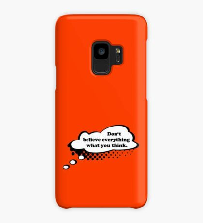Don't believe everything VRS2 Case/Skin for Samsung Galaxy