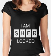 I am Sherlocked Shirt Women's Fitted Scoop T-Shirt