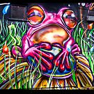 Atomic frog by Beverly Cash