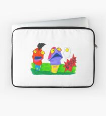Tony Curtis and Curtis Tony (with grass) Laptop Sleeve