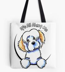 White Piebald Havanese :: Its All About Me Tote Bag