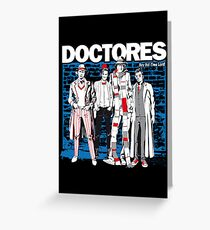 DOCTORES Greeting Card