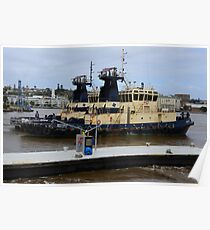 NEWCASTLE  SVITZER  HARBOUR TUGS Poster