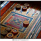 backgammon by Beverly Cash