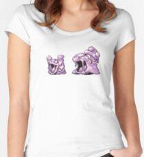 Grimer evolution  Women's Fitted Scoop T-Shirt