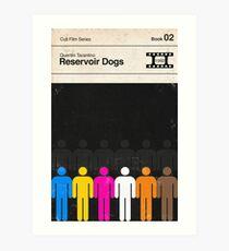Reservoir Dogs Modernist Book Cover Series  Art Print
