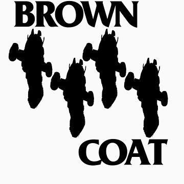 Brown Coat Bars II by Vonrocket
