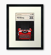 The Shining Modernist Book Cover Series  Framed Print