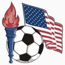 USA Soccer by SportsT-Shirts