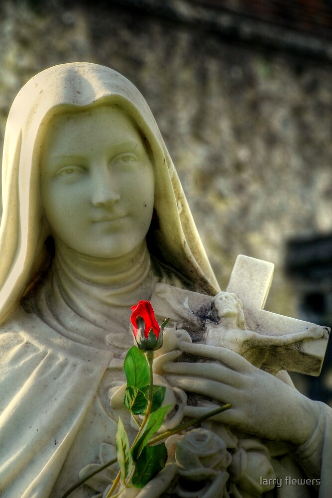 A Rose for the Virgin  by larry flewers