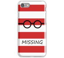 Missing iPhone Case/Skin
