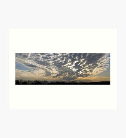 Newhaven Sky Art Print
