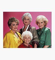 Classic Golden Girls Photographic Print