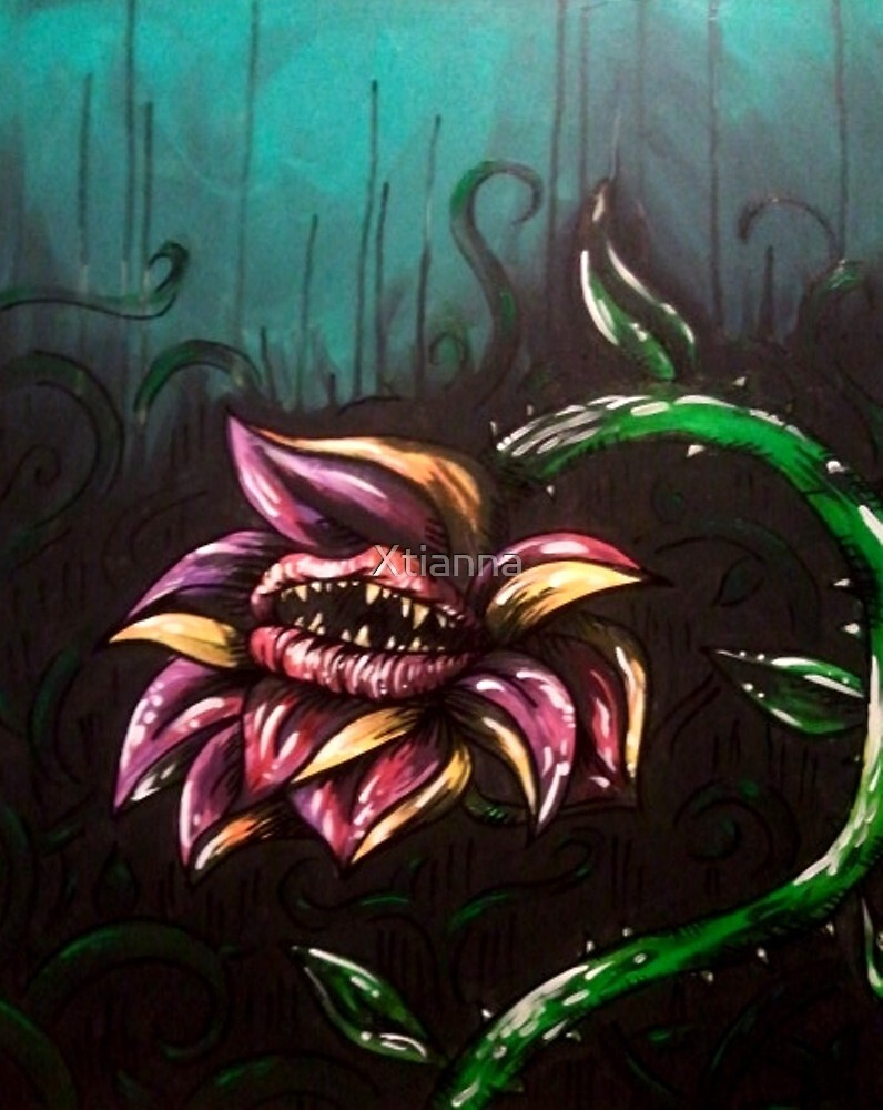 Monster Flower by Xtianna