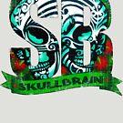 Moko Skulls Distressed by skullbrain