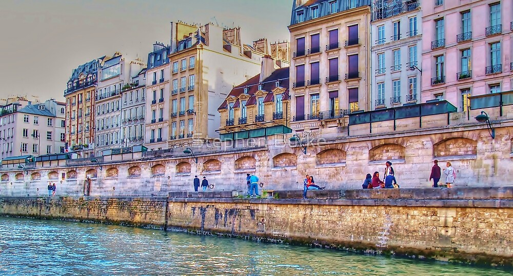 Along the Seine by Stephen Burke