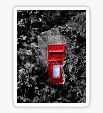 Cornish postbox Sticker