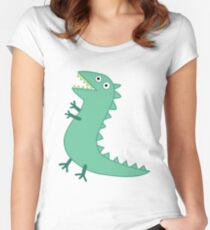 Mr Dinosaur Women's Fitted Scoop T-Shirt