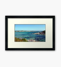 Mad Fish Bay Framed Print