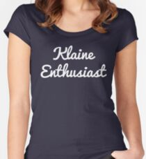 Klaine Enthusiast Women's Fitted Scoop T-Shirt
